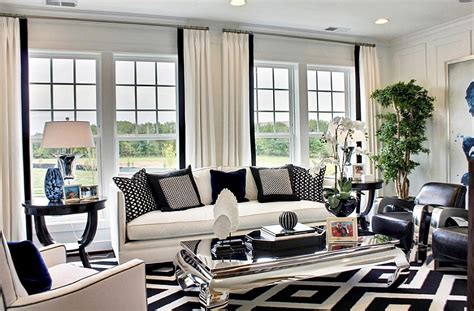 white living room ideas black and white living rooms design ideas
