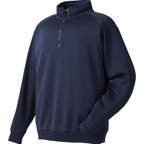 Outer Wear by Footjoy Flat Back Rib Half Zip Outerwear Apparel At