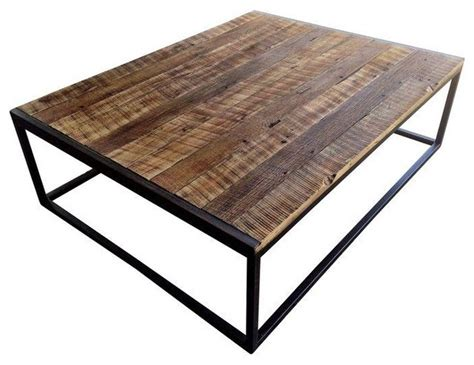 pre owned reclaimed t g barnwood coffee table rustic