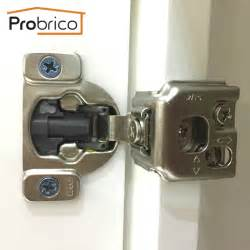 Kitchen Cabinet Door Hinges Probrico Kitchen Cabinet Hinges 1 Pair Chm36h1 1 4 Concealed Cupboard Door Hinge 1 4 Overlay
