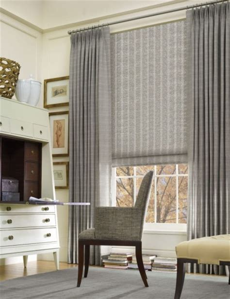 drapes over woven roman shades for the home pinterest introducing hartmann forbes handwoven grass and wood