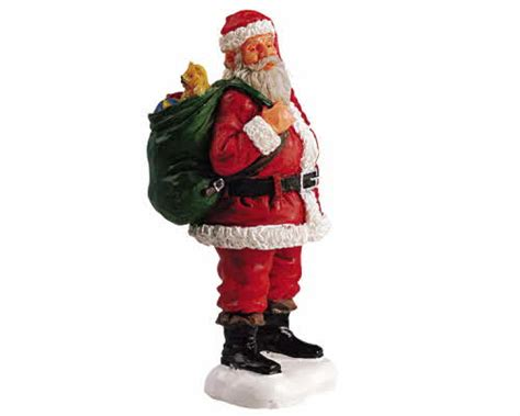 lemax village collection santa claus 52111