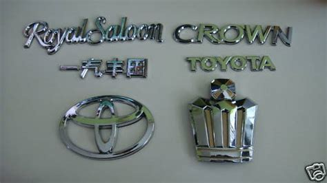 toyota crown badge crown emblems for ls400 club lexus forums