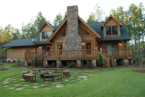 Log Cabin House by Log Cabin Home Dream Home Pinterest
