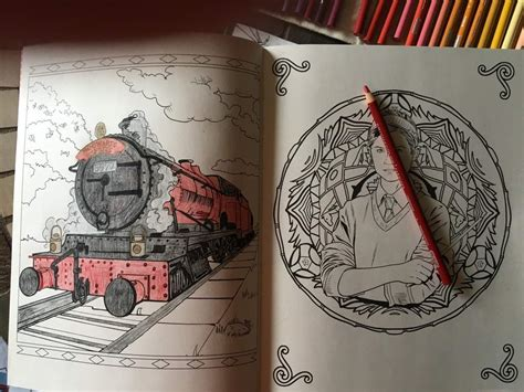 hogwarts train coloring page do you like to color harry potter amino