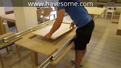 mega large square extendable dining table mega extendable dining table youtube