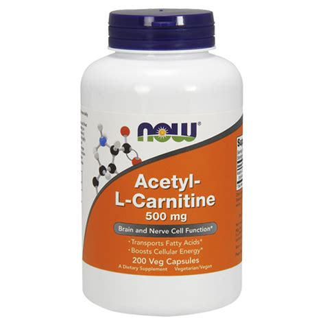 Acetyl L Carnitine Detox by Now Acetyl L Carnitine 500mg Illpumpyouup