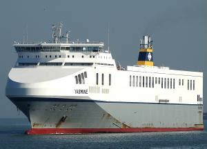 yasmine ro ro cargo ship details and current position - Schip Yasmine