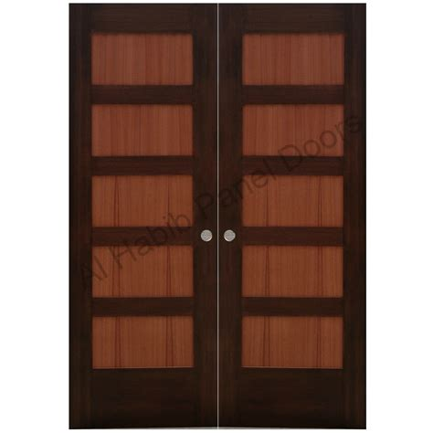 Wooden Main Door by Solid Wood Main Double Door Hpd110 Main Doors Al Habib