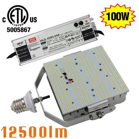 led parking lot lights retrofit 100w e39 retrofit kits led street light shoebox parking
