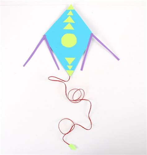 Make A Paper Kite - best photos of paper kite pattern paper piecing pattern