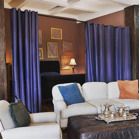 separate room with curtains best 25 room divider curtain ideas on pinterest curtain