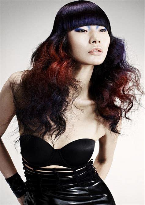 Tendencies Kaos Grey White Dip Dye hair colors 2013 hairstyles 2016 hair color ideas for 2016