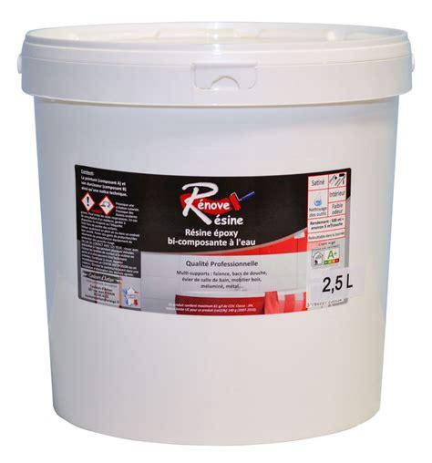 renove baignoire r 233 sine color 233 e multisupport renove resine 2 5l id 233 ale