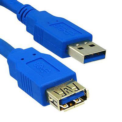 Kabel Ekstensi Usb Ke 1 kabel ekstensi usb 3 0 ke 3m blue jakartanotebook