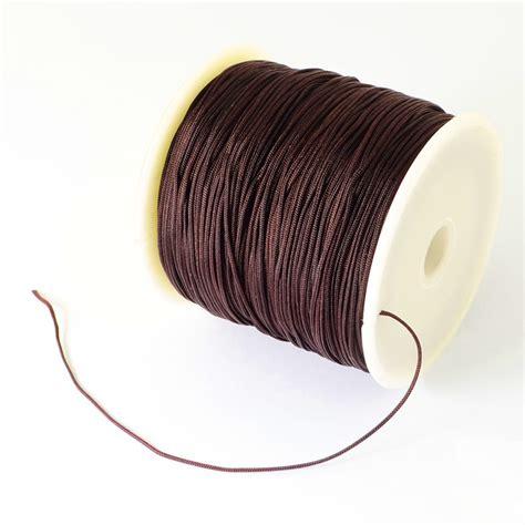 1Roll Nylon Thread 0.5mm Beading Cord Shamballa String Chinese Knoting DIY Craft   eBay
