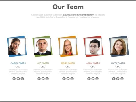 Image Gallery Team Introduction Team Introduction Ppt Template Free