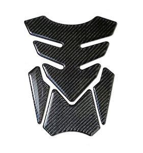 Tankpad Stiker Tangki Motor Carbon Fiber motorcycle gas fuel tank pad protector sticker real carbon fiber tnkp 05 ebay