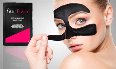 Jakolshop Masker Lumpur Black Mask 10 Sachet black peel mask sachets groupon goods