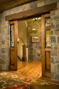Barn Door Pocket Door Wood Pocket Barn Doors For The Home