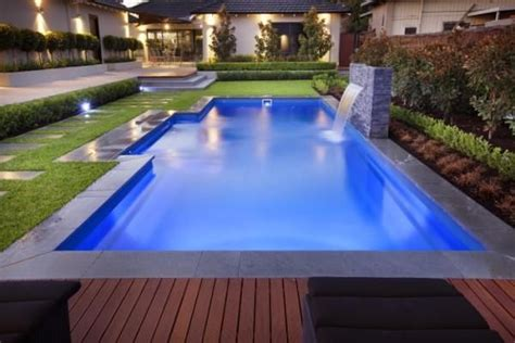 square swimming pool the majestic range a great fibreglass swimming pool this
