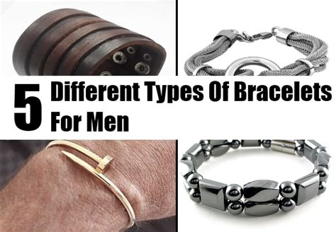 different types of bracelets for stylish bracelets