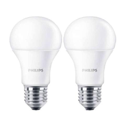 Shinyoku Led 7 Watt Putih jual philips led bulb a60 putih lu 9 watt 2 pcs harga kualitas terjamin blibli