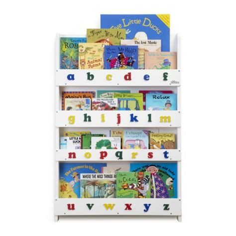 Tidy Books Childrens Bookcase White White Childrens Bookcase