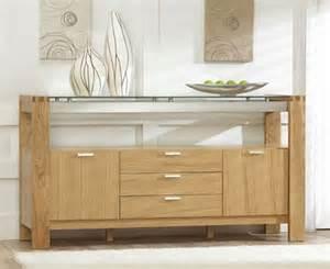rochelle oak glass sideboard oak furniture solutions