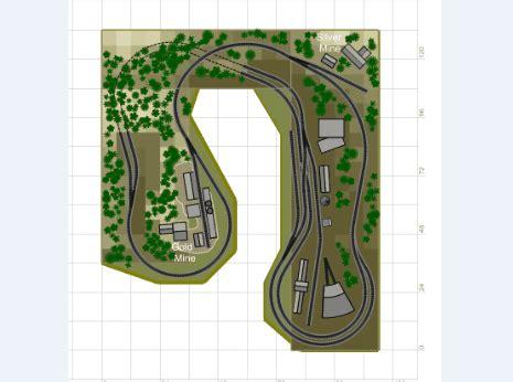train layout design software sandia software cadrail model railroad layout design