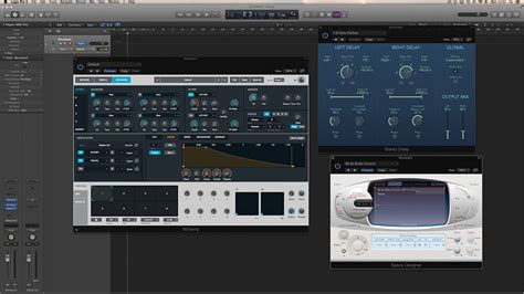 online tutorial logic pro logic pro x tutorial movement sounds in alchemy