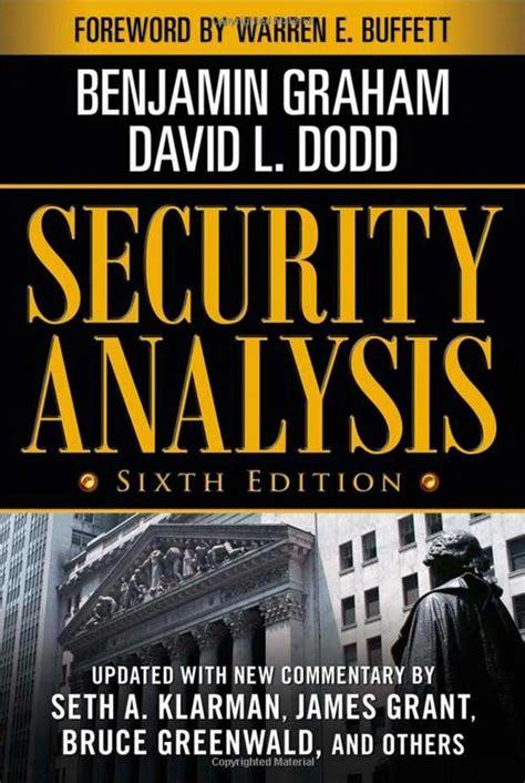 libro security analysis 9 libros que el multimillonario warren buffett piensa que todos debieran leer acci 243 n preferente