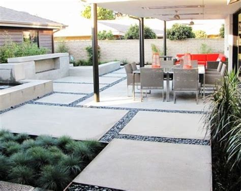 Pin By Zsuzsa Hajd 250 On Kert Pinterest Concrete Patio Ideas Backyard