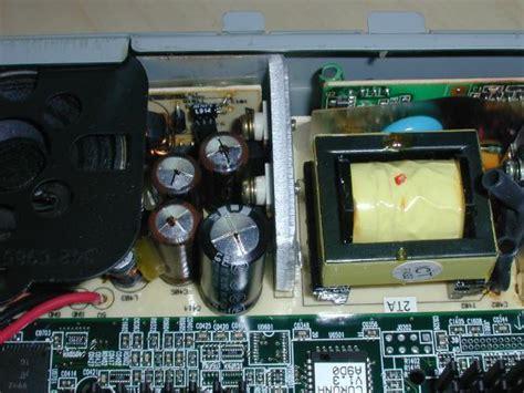 failing capacitors in power supply sun 1 power supply failure repair