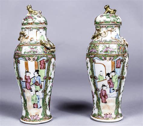 vasi cinesi di valore coppia di vasi in porcellana cina xix sec vendita
