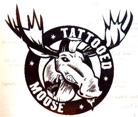 the tattooed moose the tattooed moose h 228 nschen klein