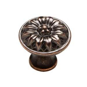 Home Depot Kitchen Cabinet Knobs Knobware 1 1 8 In Venetian Bronze Cabinet Knob C5060 1 1