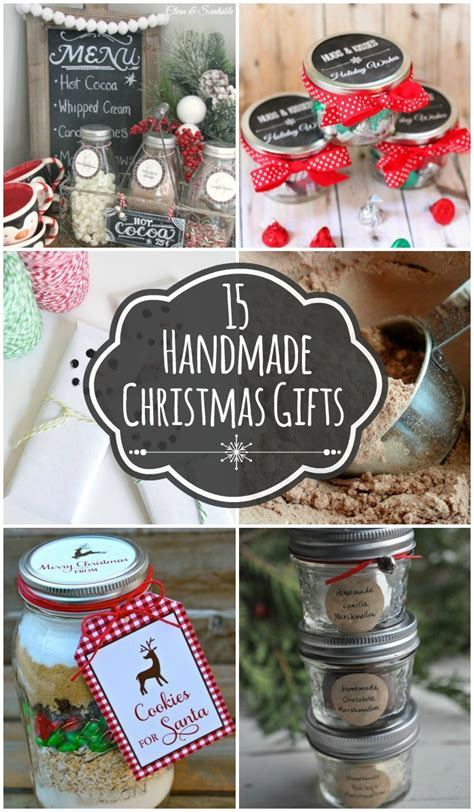 Easy Handmade Gifts - 15 handmade gift pinlavie