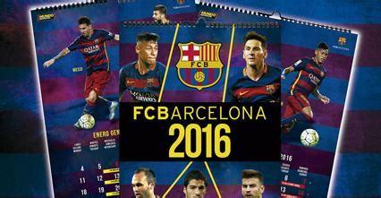 Calendario Fc Barcelona Calendario Oficial Fcbarcelona 2016