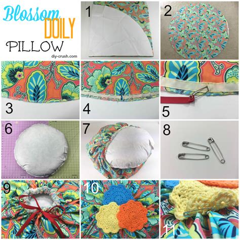 Diy Pillow Patterns by Blossom Doily Pillow Sewing Pattern Review Diy Crush