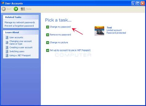 windows 10 tutorial for xp users how to change your windows password