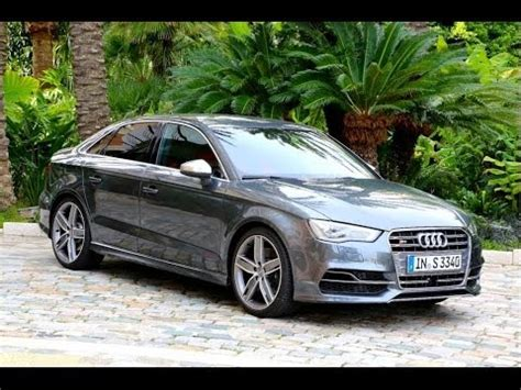 2015 audi s3 first drive youtube