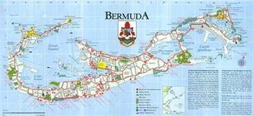 bermuda on a map bermuda maps