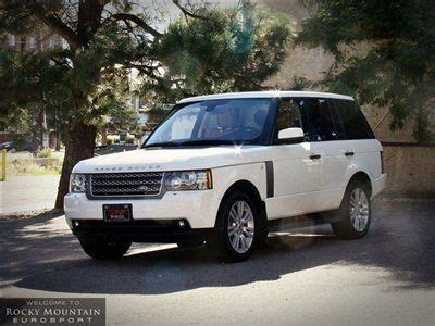 land rover factory warranty find used 2010 land rover range rover hse factory