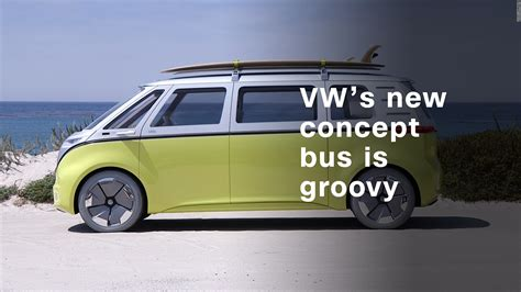 new volkswagen bus electric volkswagen s electric concept bus is far out man