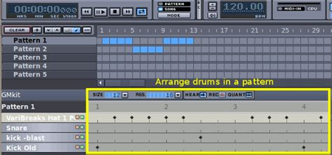 drum pattern hydrogen how to create high quality drum beats with hydrogen