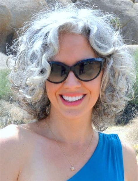 picture of gray wavy bob 1000 images about grey hair styles wisdom on pinterest