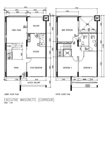 maisonette floor plans butterpaperstudio reno tohyi maisonette floorplan