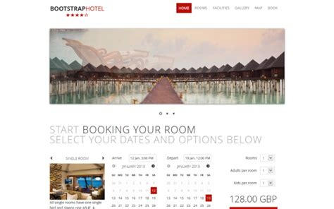 bootstrap templates for hotel free download bootstrap hotel other wrapbootstrap