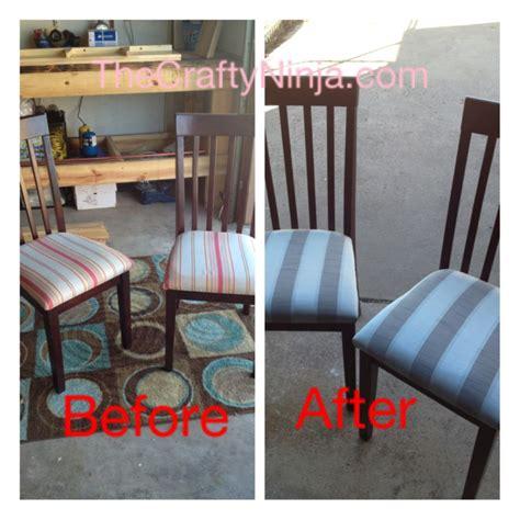 diy reupholster couch tutorial diy reupholster chair tutorial the crafty ninja